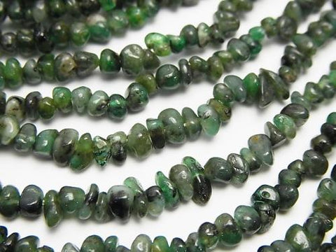 1strand $15.99! Brazil Emerald AA ++ Small Nugget (Chips) 1strand (aprx.33inch / 84cm)