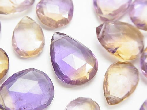 High Quality Ametrine AA++ Drop  Faceted Briolette  5pcs $24.99