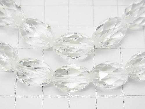 High Quality! Crystal AAA Faceted Rice 14x10x10mm 1strand (Bracelet)