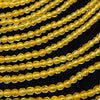 1strand $3.79! Yellow color Jade Faceted Round 4mm 1strand (aprx.14inch / 35cm)