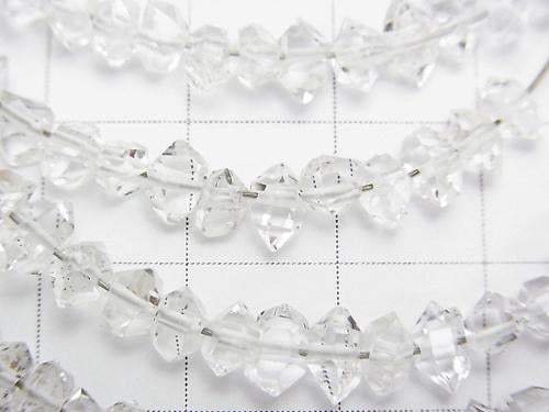 1 strand $34.99! NY Herkimer Diamond AAA Rough Rock [S-M size] 1 strand (aprx. 6 inch / 15 cm)