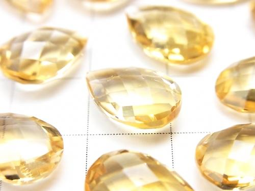 High Quality Citrine AAA Undrilled Pear shape Cushion Cut 13x9mm 3pcs $8.79!