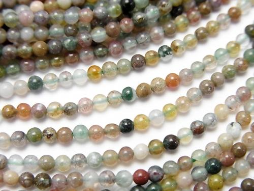1strand $3.79! Indian Agate Round 2mm 1strand (aprx.15inch / 38cm)