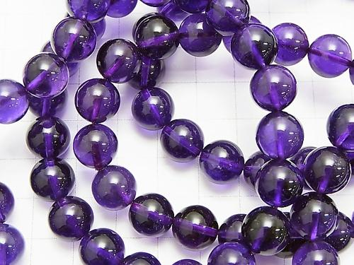 1strand $39.99! High Quality Amethyst AAA - Round 10 mm 1strand (Bracelet)