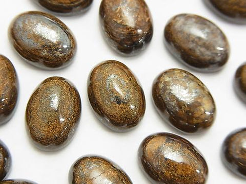 Bronzite  Oval Cabochon 14x10mm 2pcs $1.79!