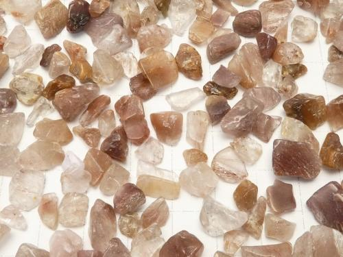 Brown Rutilated Quartz AA Undrilled Chips 100 g $3.79