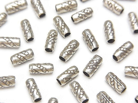 Karen Hill Tribe Silver Ornaments Tube 6 x 2.5 x 2.5 mm 10 pcs $3.79!