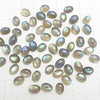 High Quality Labradorite AAA- Oval Cabochon 8x6mm 10pcs $7.79!