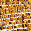 [Video] Baltic Amber Multicolor Chips (Small Nugget) 1strand (aprx.15inch / 38cm)