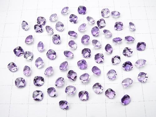 High Quality Amethyst AAA Undrilled Square Faceted 5x5mm 10pcs $3.79!