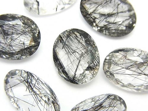 High Quality Tourmaline Quartz AAA Undrilled Oval Faceted 3pcs $19.99