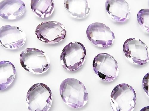 High Quality Pink Amethyst AAA Undrilled Oval Cushion Cut 10 x 8 mm 5 pcs $11.79!