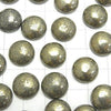 Pyrite  Round Cabochon 12x12mm 5pcs $4.19!