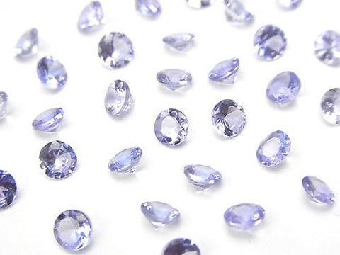 High Quality Tanzanite AAA Undrilled Brilliant Cut 4x4x2.5mm 5pcs $29.99!