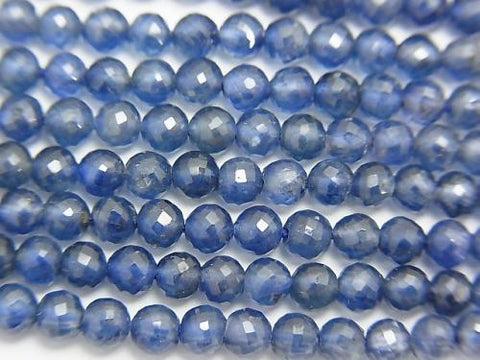 MicroCut!  Top Quality Sapphire AAA+ Faceted Round 2.5-4mm  1/4 or 1strand (aprx.15inch/38cm)