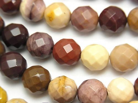 1strand $9.79! Mookaite  64Faceted Round 10mm 1strand (aprx.15inch/38cm)