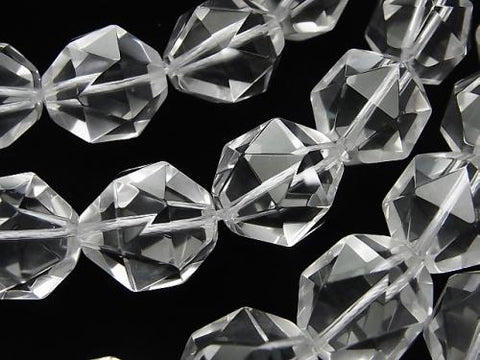 High Quality Crystal AAA 20 Faceted Round 16 mm 1/4 or 1 strand (aprx.15 inch / 37 cm)