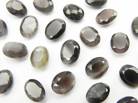 High Quality Sillimanite AAA Undrilled Oval Faceted 8x6mm 5pcs $19.99!