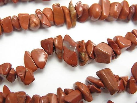 Sale! 1strand $1.79! Red Jasper Chips (Small Nugget) 1strand (aprx.33inch / 82cm)