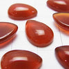 Red Agate AAA Pear shape Cabochon 14x10mm 3pcs $2.39!