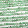 Diamond Cut! 1strand $16.99! Brazil Emerald AA ++ Faceted Round 2mm 1strand (aprx.15inch / 38cm)