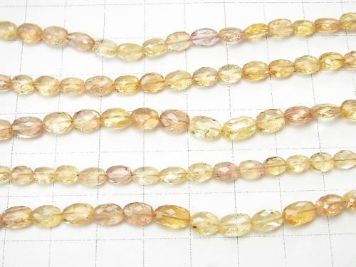 MicroCut! High Quality Imperial Topaz AAA Faced Oval half or 1strand (aprx. 9inch / 22cm)