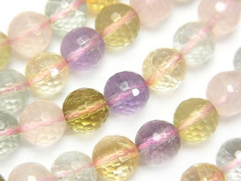 Mixed Stone AA++ 128Faceted Round 8mm half or 1strand (aprx.15inch/38cm)