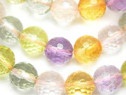 1strand $39.99! High Quality Mixed Stone AAA- 128Faceted Round 10mm 1strand (Bracelet)
