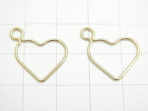 14 KGF Component (charm) Heart 15.5x13 mm 1 pc $2.39!