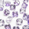 High Quality Pink Amethyst AAA Undrilled Square Faceted (Checker Cut) 6x6mm 10pcs $8.79!