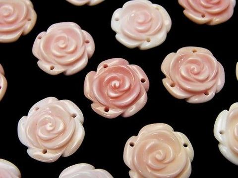 Queen Conch Shell AAA Rose 15mm [3 holes] 1pc $3.79!