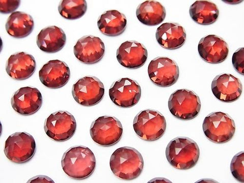 High Quality Mozambique Garnet AAA Round Rose Cut 6x6x3mm 5pcs $8.79!