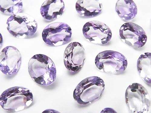 High Quality Pink Amethyst AAA Undrilled Oval Faceted 9x7mm 5pcs $7.79!