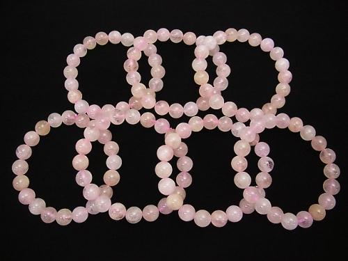 Morganite AA++ Round 10mm 1strand (Bracelet)