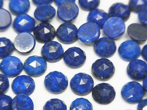 Lapislazuli AA++ Round Rose Cut 6x6x3mm 5pcs $6.79!