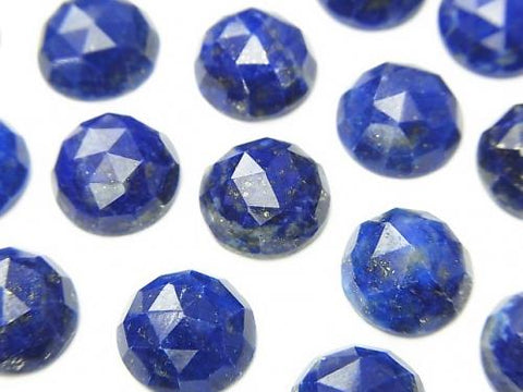 Lapislazuli AA++ Round Rose Cut 10x10x4mm 3pcs $11.79!