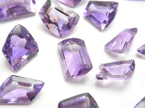 High Quality Amethyst AAA- Undrilled Freeform Faceted 3pcs $8.79!