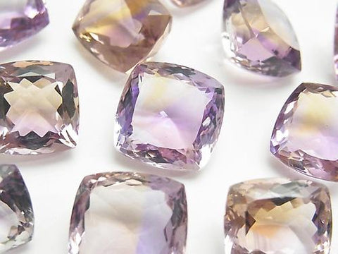 High Quality Ametrine AAA Undrilled Square -Rectangle Faceted Size Mix 3pcs $59.99!