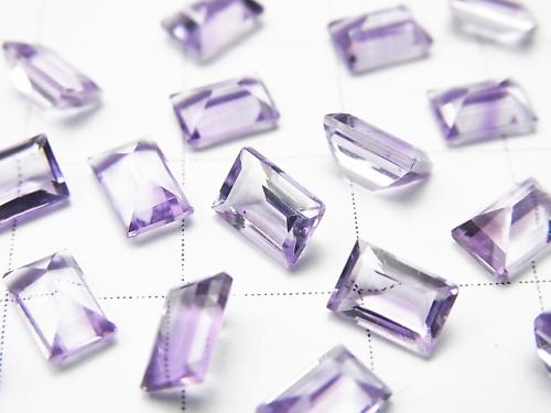 High Quality Pink Amethyst AAA Undrilled Rectangle Faceted 6x4mm 20pcs $11.79!