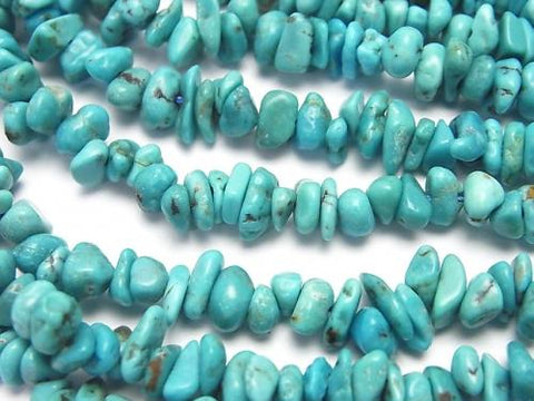 1strand $11.79! Turquoise AA++ Chips (Small Nugget ) 1strand (aprx.15inch/37cm)