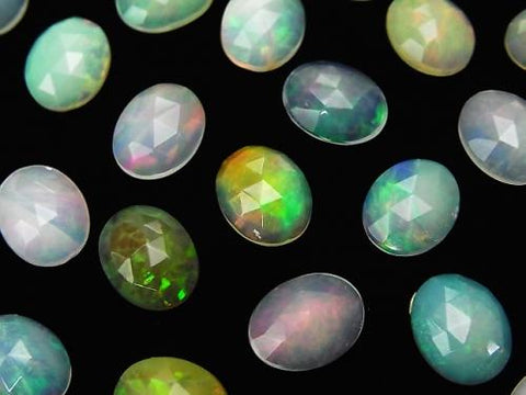 High Quality EthiopiaOpal AAA- Oval Rose Cut 10x8 3pcs $19.99!