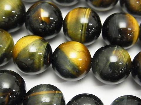 Mix Tiger Eye AAA Round 16mm half or 1strand (aprx.15inch / 37cm)
