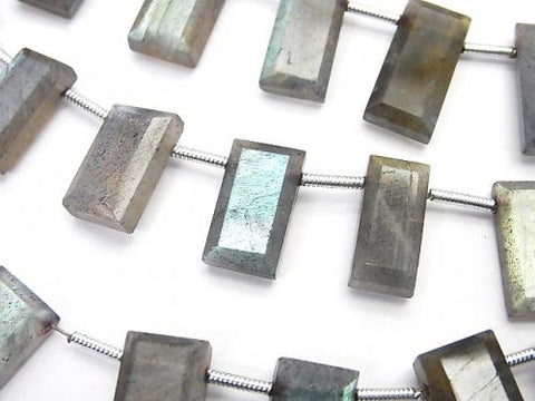 1strand $15.99Labradorite AA++ Faceted Rectangle  1strand (aprx.7inch/17cm)