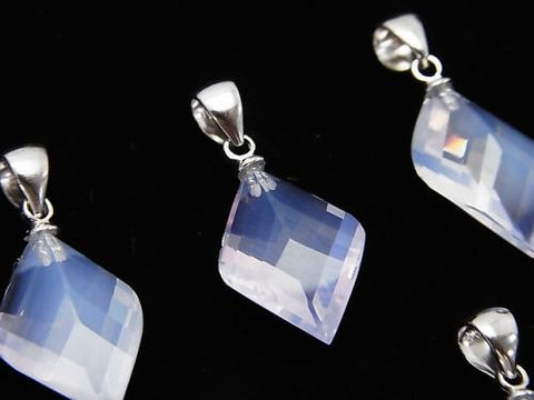 Pendant 1pc with High Quality Scorolite AAA 4Faceted xMultiple Facets $39.99!