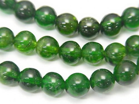 1strand $79.99! High Quality Chrome Diopside AAA Round 6mm 1strand (Bracelet)
