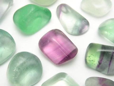 Multicolor Fluorite Undrilled Nugget 11-17mm 100g $4.79