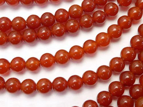 1strand $3.79! Red Agate AAA Round 4mm 1strand (aprx.15inch / 37cm)