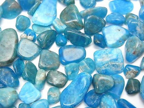 Blue Apatite AA + Undrilled Chips 100g $4.79