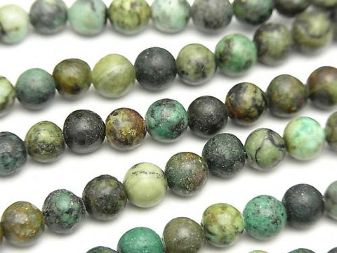 1strand $7.79! African Turquoise  Round 6mm 1strand (aprx.15inch/38cm)