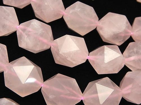 Rose Quartz AA++ 20Faceted Round 16mm half or 1strand (aprx.14inch/35cm)